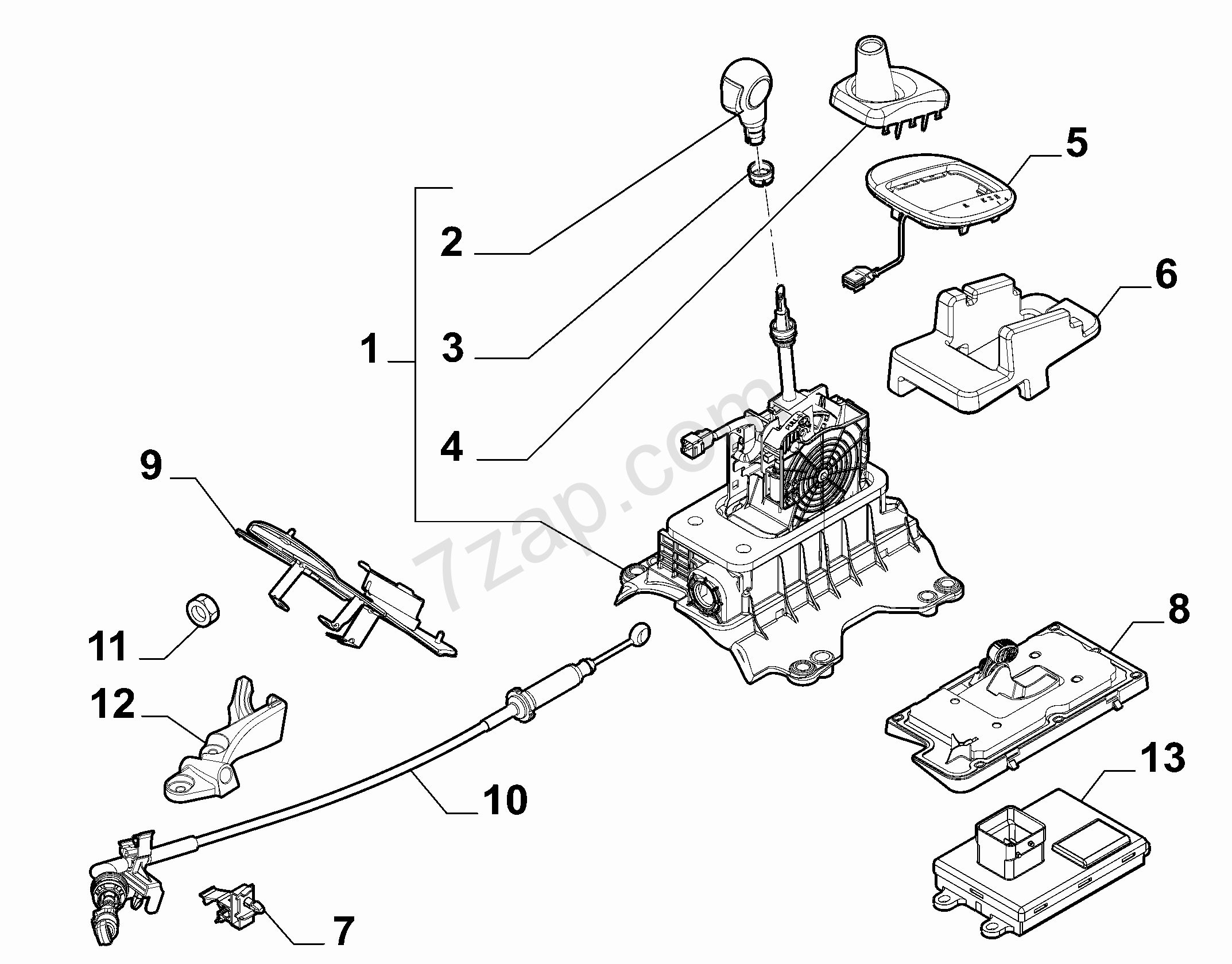 Transmission Outer Controls Alfa Romeo Mito 2008 2011 Diagrams